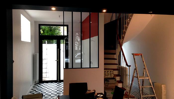 photo 002 - loft décoration - peinture et parquet - la garenne colombes