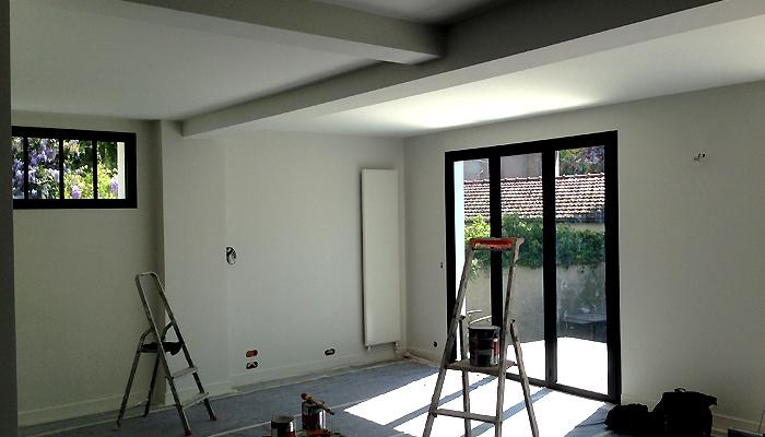 photo 011 - loft décoration - peinture et parquet - la garenne colombes