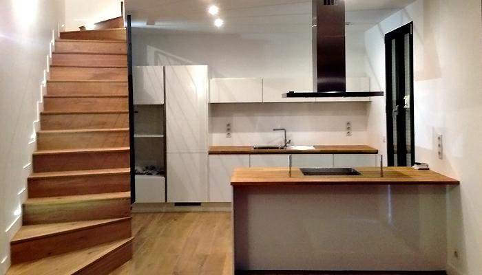 photo 017 - loft décoration - peinture et parquet - la garenne colombes