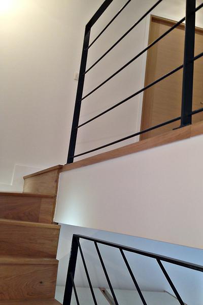 photo 030 - loft décoration - peinture et parquet - la garenne colombes