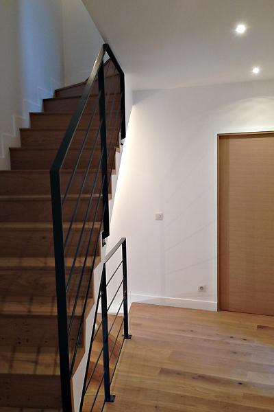 photo 032 - loft décoration - peinture et parquet - la garenne colombes